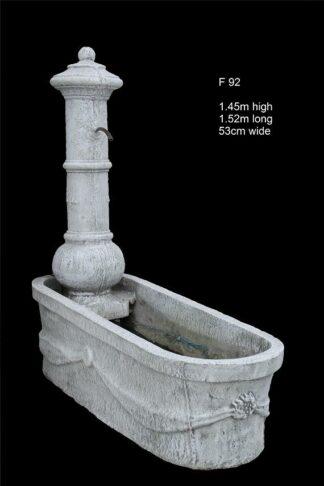 concrete fountain 92