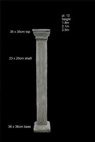 concrete pillar pl 012