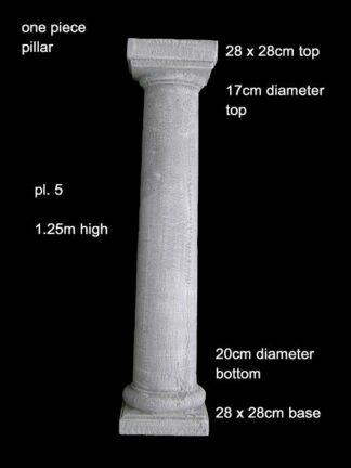 concrete pillar 005