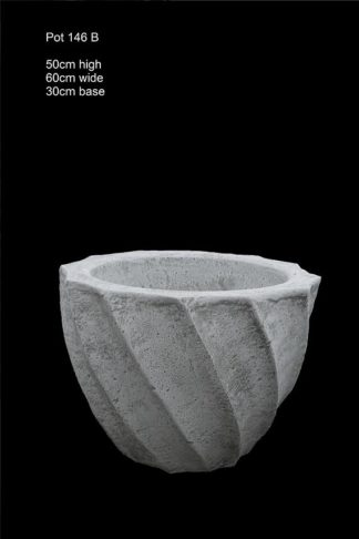 concrete pot 146 B