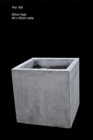concrete pot 169