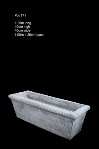 concrete trough pot 171