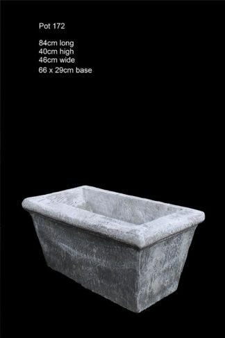 concrete trough pot 172