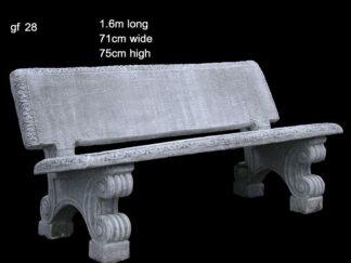 cement bench 28