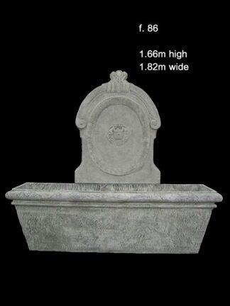 concrete fountain 86