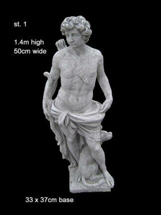 Concrete Statue 001Febo