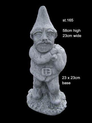 concrete statue 165