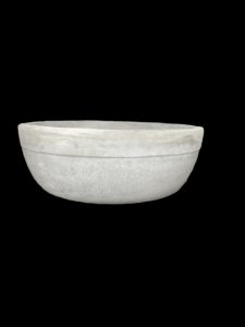 hand crafted cement basin