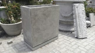 custom cement pot