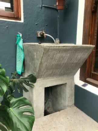 cement wash trough