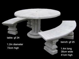 cement table set gf 24/25