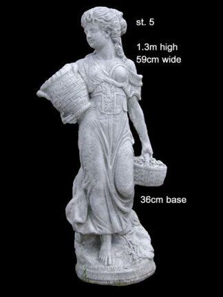 concrete statue 005